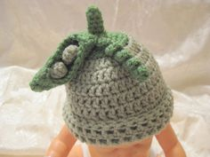 Peas in a pod hat Newborn size Adorable PHOTO PROP or by RNNan13, $13.00