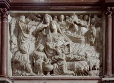 Explanation of the nativity panel by Nicola Pisano, the first of a 25 day series on the nativity in Western art.