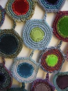 Sophie Digard crochet scarf and fabric
