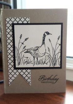 Canadian Goose Birthday by enm1974 - Cards and Paper Crafts at Splitcoaststampers