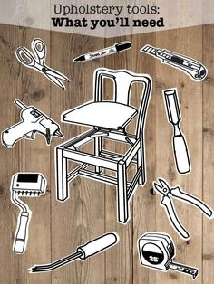 DIY Upholstery tools for the Beginner to Intermediate