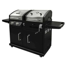 Dyna-Glo 2-Burner Dual Fuel Gas/Charcoal Grill