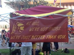 Fight On! USC Trojans!