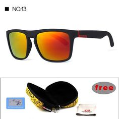 406e950cc3c Highly Recommended KDEAM Mirror Polarized Sunglasses Men Square Sport Sun  Glasses Women UV gafas de sol With Peanut Case