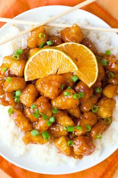 Than Takeout Orange Chicken There's no need to order out! This better than takeout orange chicken is ready to go in a little over an hour!There's no need to order out! This better than takeout orange chicken is ready to go in a little over an hour! Diet Recipes, Cooking Recipes, Healthy Recipes, Recipes Dinner, Yummy Recipes, Copycat Recipes, Brunch Recipes, Cooking Pork, Amazing Recipes