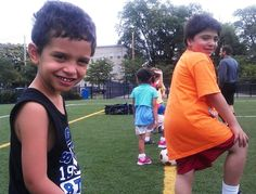 All smiles - at Capuano Field