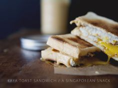 KAYA TOAST SANDWICH: A SINGAPOREAN SNACK