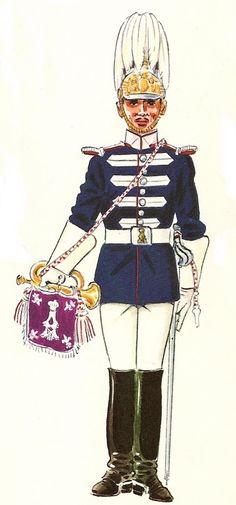 1910 Media gala. Trompeta Samurai, Military, Pictures, Shooting Guard, Trumpet, Military Uniforms, Soldiers, Drawings, Photos