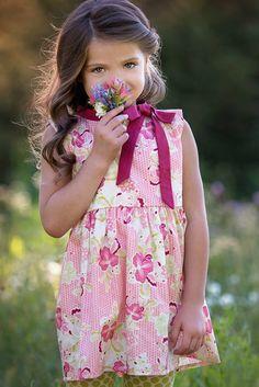 0a0bc84c70c3 One Good Thread - Persnickety | Gwen Tunic - Pink - Daffodils  #ONEGOODTHREAD #EASTER
