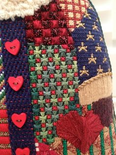 More detail in Steph's Stitching: Patchwork Santa