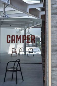 Camper Showroom / Neri & Hu Design and Research Office Beautiful Chairs too...