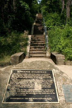 RED WING — Without a doubt, the most historically famed trail in this region overlooks the Mississippi River on Barn Bluff in Red Wing.