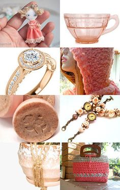 PEACHY KEEN by Vickie Wade on Etsy--Pinned with TreasuryPin.com