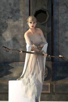 Alecto _ Greek. One of the Three Furies who was the Goddess of fallen warriors.