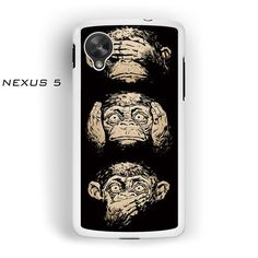illustrations three wise monkeys wisdom AR for Nexus 4/ Nexus 5 phonecase