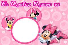 invitaciones princesas, Dora, Minnie y Fresita, cumpleaños ...
