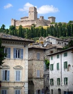 Assisi Italy, Rocca Maggiore