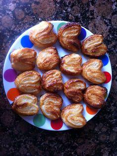 Las dulces manualidades de Lara: Palmeritas de hojaldre
