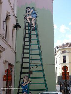 Graffiti, Street Art, Fair Grounds, Fun, Trips, Paths, Murals, Traveling, Brussels
