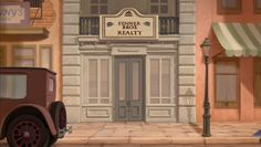 Animation Backgrounds: THE PRINCESS AND THE FROG finale