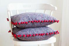 Lana Red Studio: DIY | Painters Cloth Cushion Cover