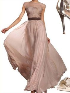 For Sister - MOH the champagne bridesmaid dress