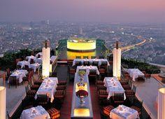 5-star dining: Thai hospitality company lebua and its CEO Deepak Ohri pioneered al fresco haute dining and bars atop skyscrapers in Bangkok.