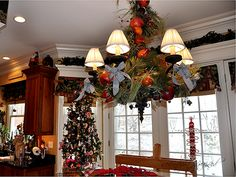 Christmas Holiday Decorating - Kitchen by Serendipity Refined