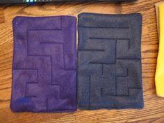 Marble Maze...busy bag idea :)