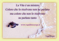Mistero della vita - Frasi di Yogi Bhajan http://www.equilibrioyoga.it/index.html