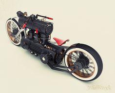 Train Wreck Bike by Colby Higgins...
