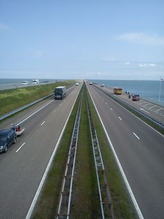 Afsluitdijk (North Sea enclosure), Netherlands