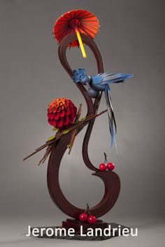 This is amazing- all made of chocolate!