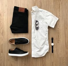 Street Fashion Trends The Raw Straight Cut Jeans Stylish Mens Outfits, Casual Outfits, Men Casual, Retro Mode, Mode Vintage, Straight Cut Jeans, Outfit Grid, Street Style Trends, Men Style Tips