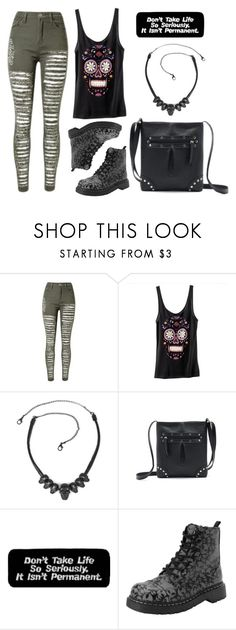 """Teen Rebel"" by rebelsmarket-0 on Polyvore featuring T.U.K."