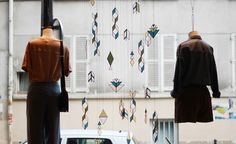 Sessùn x Bespoke | Contemporary Stained Glass shop installation