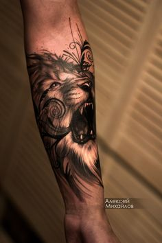Тату реализм лев, эскиз индивидуальный #tattooed tattoos #fashion #style #art #drawing #sketch #tattooartist #татуировка #татумастер #татухи #татуэскиз #татумск