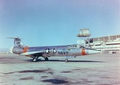One of the two US Navy Lockheed F-104A Starfighters NWC at China Lake in 1960. The Navy procured 2 airframes & did some modifications & testing, as Navy desperate for supersonic/high performance jets.Major redesign would have been needed to make it a viable carrier aircraft, & the USN soon after recieved it's first Phantoms, & further tests cancelled.