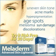 Meladerm is a serum that can be used for skin lightening.