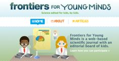 11 Free Science Websites for Kids - Frontiers for Young Minds - Really Good Stuff