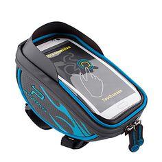 Promend®+Bike+Bag+1.5Waterproof+Zipper+/+Reflective+Strip+/+Multifunctional+/+Touch+Screen+/+Reflective+/+Phone/Iphone+/+Shockproof+/+–+USD+$+13.99