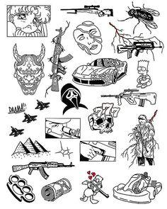 Minimal Tattoo Design, Tattoo Design Drawings, Small Tattoo Designs, Tattoo Sketches, Small Tattoos, Spooky Tattoos, Dope Tattoos, Body Art Tattoos, Sleeve Tattoos