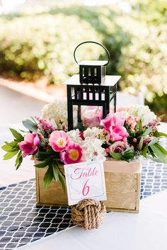 Candle centerpieces: Rustic wooden boxes (with hand painted table numbers), IKEA black lantern, surrounded by baby's breath/wild flowers/fall leaves, add tea lights? Add similar style w/ IKEA hurricane vase and gold pine cone filler.