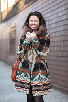 Still on the hunt for a Navajo-print coat that's not astronomically priced. Yes, that's you Opening Ceremony.