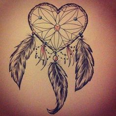 Dream Catcher Tattoo With Names Only In Our Dreams We Are Free #tattoo #dreamcatcher  Tattoo