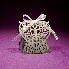 Laser Cut Wedding Favor Boxes - Italian Ornate