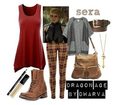 """""""Dragon Age - Sera"""" by dwarva ❤ liked on Polyvore featuring River Island, Freebird, Elliot Rhodes, Givenchy, Wet Seal, Monki and Rebecca Minkoff"""