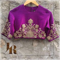 Contact us to place your order for this stunning purple blouse! jayantireddylabel jayantireddy 25 December 2016