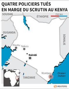 Quatre policiers kényans tués en marge de l'élection - http://www.andlil.com/quatre-policiers-kenyans-tues-en-marge-de-lelection-97332.html