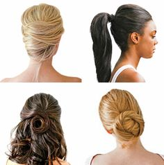 Learn the 3 Simple Steps to Each of Our Perfect Updos